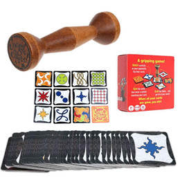 Regras de jogos de tabuleiro on-line-Jogo de Tabuleiro Wood Jungle Token Corra Rápido Par Speed Forest Seja o primeiro a agarrar o Totem! Regras da Festa da Família