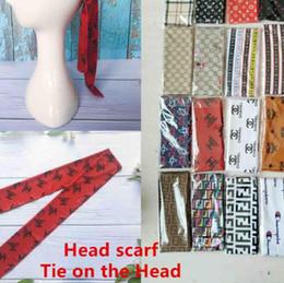 Lazos para la cabeza de las mujeres online-Nuevo Head Scarf Tie en la cabeza Durag Headband Pirate Hat Bandanas para hombres y mujeres Diademas Silky Durags Headwraps Gorras de hip hop