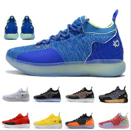 94ef14a019fc 2019 New Hot Kevin Durant kd 11 Basketball Shoes Mens Durant Gold  Championship MVP Finals training Sneakers Sports Running Shoes Size 40-46 discount  kd mvp ...