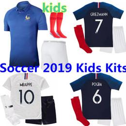 1919 2019 FFF France Edition spéciale Centenaire HENRY maillot de foot 2 étoiles mbappe GIROUD GRIEZMANN kante 18 19 Franc maillot ZIDANE Kits Enfants ? partir de fabricateur