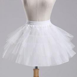 Einzelhandel Mädchen Weiß Schwarz Tutu Röcke Kinder Baby Fischgräte panniers kleine flauschige Brautkleid weich Petticoats Kinder Boutique Kleidung
