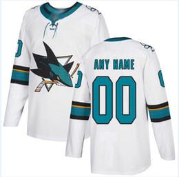 2019 remiendos al por mayor de la camisa del niño Custom San Jose Sharks nhl camisetas de hockey Logan Couture 2019 Stanley Cup Final Patch Jersey 4xl 5xl 6xl venta al por mayor camisetas baratas de niños