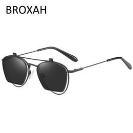 wholesale reading sunglasses Promo Codes - Retro Metal Polarized Sunglasses Men 2019 Anti Blue Light Reading Glasses Women UV Protection Driving Sunglasses Oculos Feminino