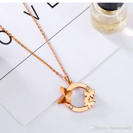 ab92ce710aab Anillo de mariposa de oro rosa de 18 quilates chapado en oro con collar de  diamantes y collar de diamantes anillos de mariposa 18k baratos
