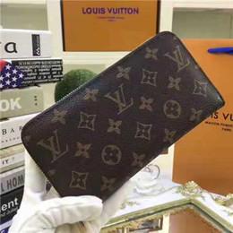 beste marken-geldbörsen Rabatt Markendesigner Brieftasche Langen abschnitt Berühmte Luxus Brieftasche Leder Frauen Männer Brieftaschen Mode Reißverschluss Designer Geldbörse Beste Qualität