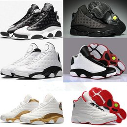 b2579da75892 2019 New Top Jumpman XIII 13 Basketball Shoes Mens 13s Gold Championship  MVP Finals training Sneakers Sports Running Shoes Size 7-12 discount  basketball ...