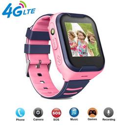 Tracker digitale online-A36E Bambini astuti Guarda 4G Wifi GPS Tracker Orologio Cellulare da polso digitale di SOS macchina fotografica della sveglia Watch Phone per i bambini