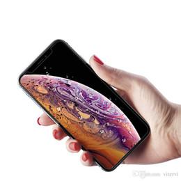 2019 retailbox pour écran protecteur Pour 2018 NOUVEAU Protecteur d'écran Film Iphone XR XS MAX X verre trempé pour iPhone 7 8 Premium qualité Retailbox 1 PACK retailbox pour écran protecteur pas cher