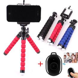 2020 bluetooth trípode selfie Trípode para el teléfono trípode de Monopod selfie remoto Vara para Smartphone trípode de soporte para teléfono móvil Bluetooth remoto Control de trípodes bluetooth trípode selfie baratos