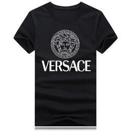 2019 pantaloni grigi grigio camicia 2018 Nuovo marchio girocollo T-shirt Street manica corta camicia a pois uomini teel hip Designer mens magliette