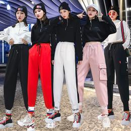 vestiti da ballerini di hip hop Sconti Jazz Dance costume delle donne Street Dance performance Abbigliamento Hip Hop Rave Outfit pratica Abbigliamento Dj Ds Gogo Dancers Wear DC3463