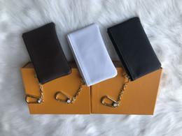 лондонский кошелек Скидка 4 цветная сумка для ключей Damier leather держит высокое качество известный классический дизайнер женщин брелок портмоне маленький кожаный ключ кошельки с коробкой