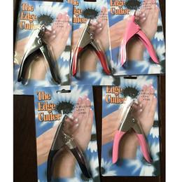 ciseaux rouge Promotion Tamax NA070 Coupe-ongles en acier inoxydable Acrylique Faux conseils pour les ongles Coupe-coupe-coupe Ciseaux à ongles manucure rouge