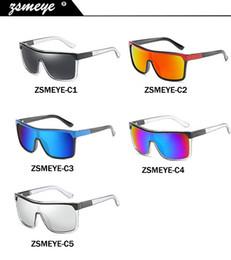 Protetores de proteção on-line-ZSMEYE alta qualidade espião Flynn oversize Escudo Óculos De Sol Dos Homens óculos de proteção UV400 Óculos Mulheres Big-size Goggles Do Vintage sem logotipo