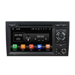 "audi dvd di android dell'automobile Sconti PX5 Android 8.0 Octa Core 2 din 7 ""Car DVD Audio Radio GPS per Audi A4 S4 RS4 2002-2008 Bluetooth WIFI 4 GB RAM 32 GB ROM USB DVR"