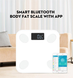smart body scale Coupons - Bluetooth scales floor Body Weight Bathroom Scale Smart Backlit Display Scale Body Weight Body Fat Water Muscle Mass BMI