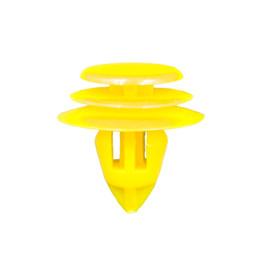 porta para honda liberada Desconto NO.1374 Amarelo Nylon Porta Interior Cartão Guarnição Retentor de Fixação de Rebite para BYD Volvo Prado Acessórios Do Carro Guarnição Do Painel