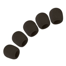 microphone sponges Promo Codes - Microphone Ball Sponge Foam Cover (Set of 5, Black)