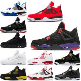 5ec5ac9f3429 Discount jump man shoes - Raptors 4s mens basketball shoes IV designer  sneakers black cat bulls
