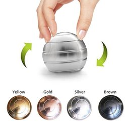 Pageantry Metal Stress Ball for Adults Anxiety,ADHD Optical Illusion Fidget Spinner Toys for Adults Kids,Kinetic Spinning Desk Toy Ball Desk Toys