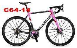 22 fahrrad online-Top Verkauf 6 Farben T1100 UD Colnago C64 Carbon Straßenrahmen Fahrradrahmen mit 48/50/52/54 / 56cm matt / glänzend für Ihre Auswahl
