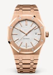 champagne top blu Sconti 12 Style Top Luxury Watch 41MM quadrante blu 15400 orologi da polso in acciaio inossidabile meccanici automatici automatici orologi da uomo a carica automatica