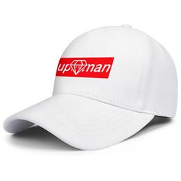 2019 porzellan weiße kappe Superman Diamond China weißen Herren und Damen Trucker Cap Baseball cool benutzerdefinierte Team Hüte günstig porzellan weiße kappe