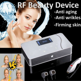 Rf thermage facelifting online-Tragbare Fractional RF Schönheit Maschine Thermage Ausstattung Radio Frequency für Hautstraffung Gesicht Facelift Radiofrecuencia Fraccionada