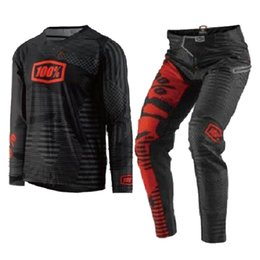 Jersey motocross ktm online-2018 RACE Wear Gear Set Jersey Pant Combo para KTM Motocross Dirt Bike Off-Road MX Racing Riding
