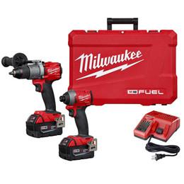 NOVO Kit Combinado Milwaukee COMBUSTÍVEL M18 2997-22 18 Volts Martelo Perfurador / Driver de Impacto de Fornecedores de conector para acer