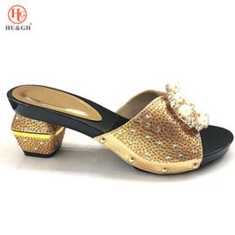 2019 женская обувь 2018 новый золотой цвет итальянский Леди сексуальные высокие каблуки насосы свадебное платье на высоких каблуках итальянский дизайн африканских сандалии обувь для партии скидка женская обувь