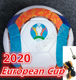 bolas de futebol Desconto Melhor qualidade da Taça Europeia de Futebol bola 2020 Final KYIV PU tamanho 5 bolas grânulos de futebol antiderrapante Frete grátis bola de alta qualidade