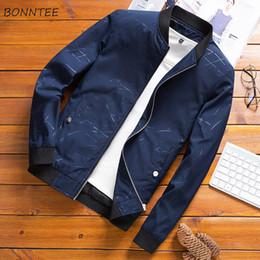 Jacken Männer Solide Stehen Hohe Qualität Komfortable Neue Mode Herren Jacke und Mäntel Allgleiches Ulzzang Slim Fit Korean Style Chic von Fabrikanten