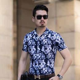 22cb89eaf5e Heißer Verkauf Hemd Männer Brand New Streetwear Print Mens Casual Shirts  Plus Size Business Formelle Kleidung Hemd Kleid Männer Blusen 7XL 6XL