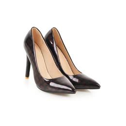 Hot Womens Ladies Court Shoes Stilettos tacones altos del partido puntiagudo sandalias de noche bombas S1017 EE.UU. desde fabricantes