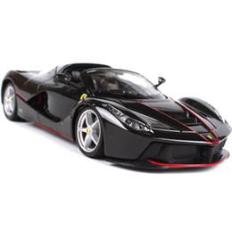 1:24 Ferrari aperta 40th Anniversary Edition Simulação Liga Modelo de Carro Modelo de Carro Decoração Presente de Aniversário das Crianças de Fornecedores de amarelo de brinquedo de ônibus