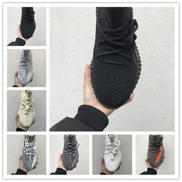 merletti leggeri Sconti [Con orologio sportivo] Adidas Yeezy Boost 350 V2 Vendita calda statici Lace 3M riflettenti sesamo burro donne Scarpe Uomo Scarpe Nero Bianco Rame Sneakers uomo Designers in corso