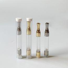 Vendita del serbatoio online-Cartucce di Vape non vendute a caldo G2 Atomizzatore Cartucce di stoppino di oro argento Wick Serbatoio di vetro Dab Wax Wax per 510 Thread Battery