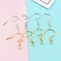 f4aa6dd70378 Hallazgos de Pendientes Hipoalergénicos de plata de ley 925 Ganchos de  anzuelo de la joyería Diy Ear Wire Hook Hook Pendientes para la fabricación  de joyas ...
