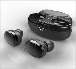 Deutschland T12 TWS Bluetooth Kopfhörer Mini Zwillinge Bluetooth V4.1 Headset Doppel Drahtlose Ohrhörer Stereo Kopfhörer Mit Ladebox Socket Case MQ30 Versorgung