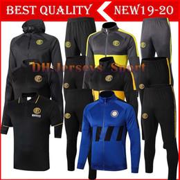 Conjunto de camiseta online-2019 2020 Inter polo del fútbol camiseta de la camisa de fútbol Milan ALEXIS deporte Capa del desgaste de la formación fija Lukaku 19/20 chaqueta de camiseta de fútbol kit