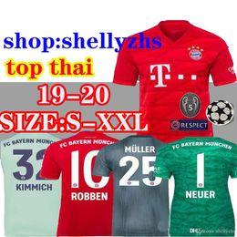 bf22bbee868 neuer goalkeeper jersey 2019 - 19 20 Bayern Munich Soccer jersey AWAY home  2019 2020 camiseta
