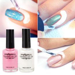 látex de uñas Rebajas El mejor 1pc Nail Art Cuticle Protect Latex Liquid Peel Off Cream Tape para uñas QQ99