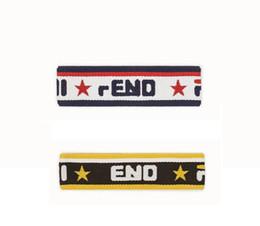 Sweatband della fascia FD Five Star Sport con due colori da