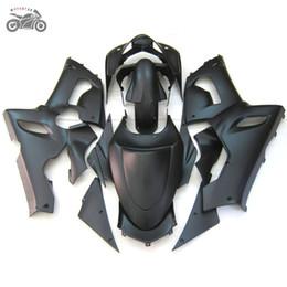 Kits de carenagem zx6r 636 on-line-Custom kits carenagens kit para a Kawasaki Ninja ZX6R 636 05 06 ZX6R 2005 2006 ZX 6R fosco motocicleta preta carenagem