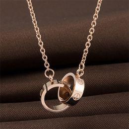 2019 diseños de medallón de oro para las mujeres Collar de AMOR de joyería de diseño Collar de tornillo de oro de 18 quilates con oro rosa platino Regalo de amor de mujer de lujo 2 estilos