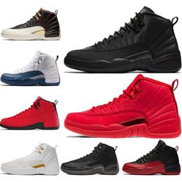 2019 zapatos rojos tamaño 12 Nike Jordan 12 12s Zapatillas de baloncesto  para hombre apuradas 12 ef4265c12b3