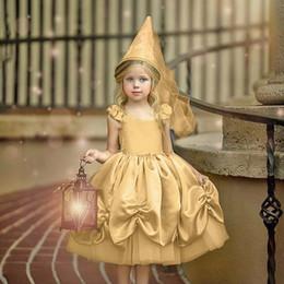 Costumes de criança on-line-Varejo meninas vestido de papel costumes jogo Cinderela Congelado Princesa Crianças Vestido de renda saias crianças boutique desinger roupas