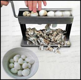 Deutschland Kleine manuelle Shell Tool Maschine hohe Effizienz praktische Haushalt manuelle Wachtel Vogel Ei Schäler Maschine Huller Maschine Scheller Versorgung