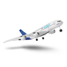 2019 aereo remoto per i bambini Aeromodello volante modello 3CH EPP aereo ad ala fissa Airbus modello A380 Modello 2.4G Aircraft RTF per bambini sconti aereo remoto per i bambini